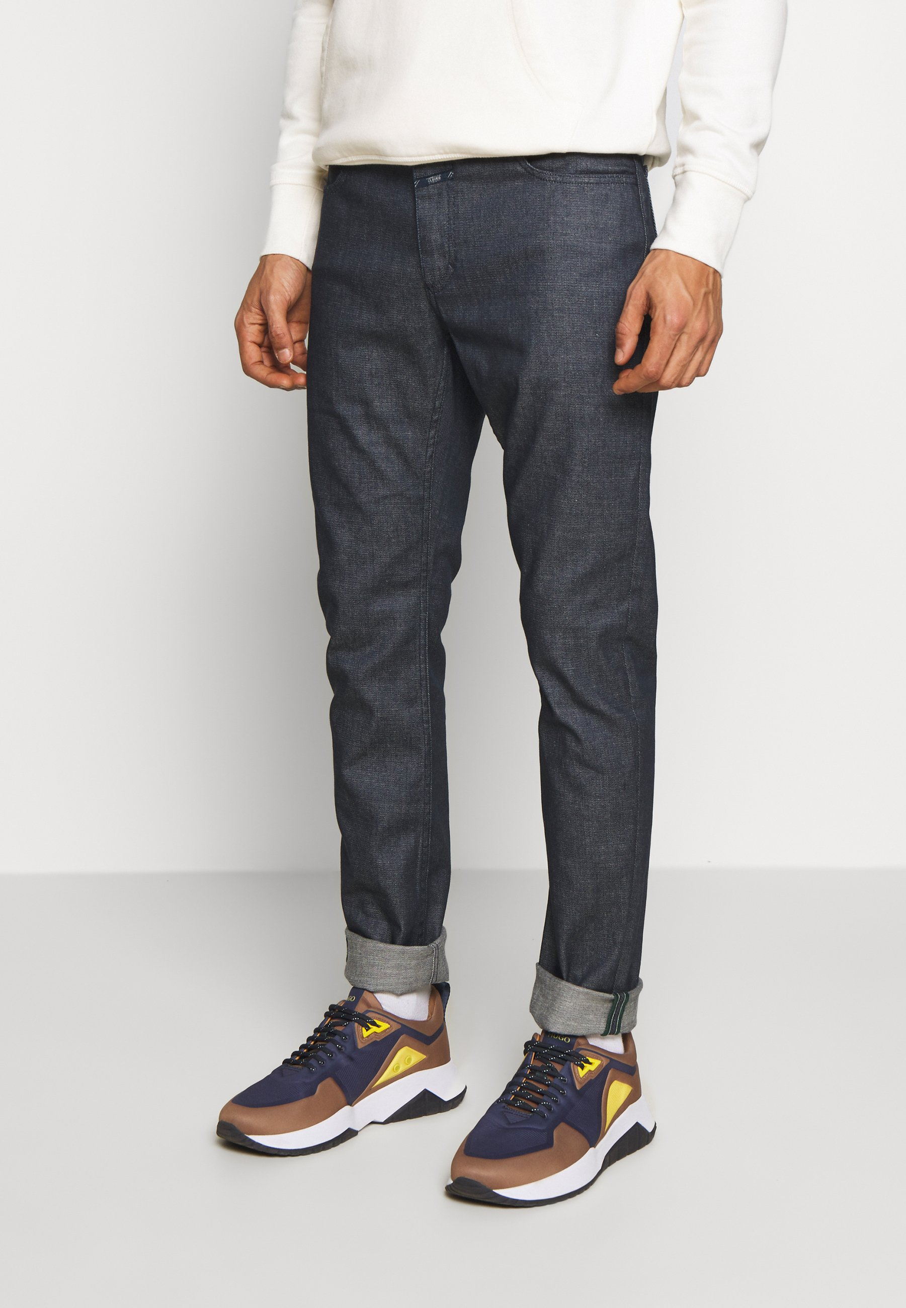 Closed Unity - Jeansy Slim Fit Dark Blue