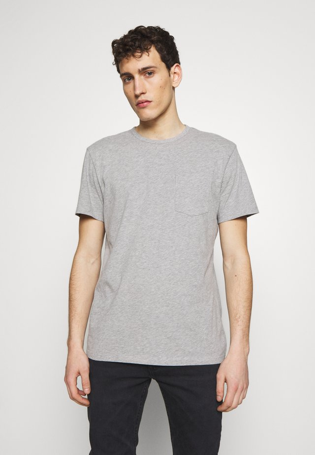 T-paita - light grey melange