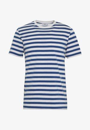 MEN´S - Print T-shirt - fading indigo