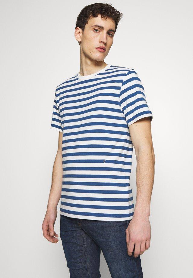 MEN´S - T-shirt con stampa - fading indigo
