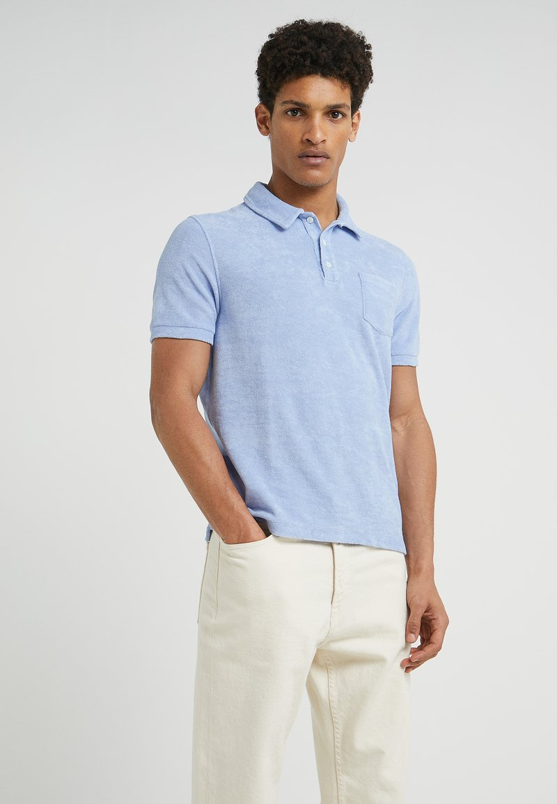 CLOSED - SHORT SLEEVE - Polo shirt - soft sky