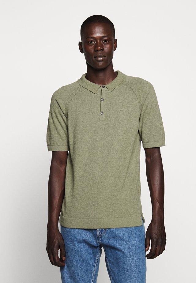 Polo shirt - soft khaki