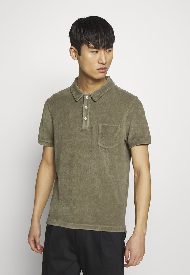 SHORT SLEEVE - Pikeepaita - soft khaki