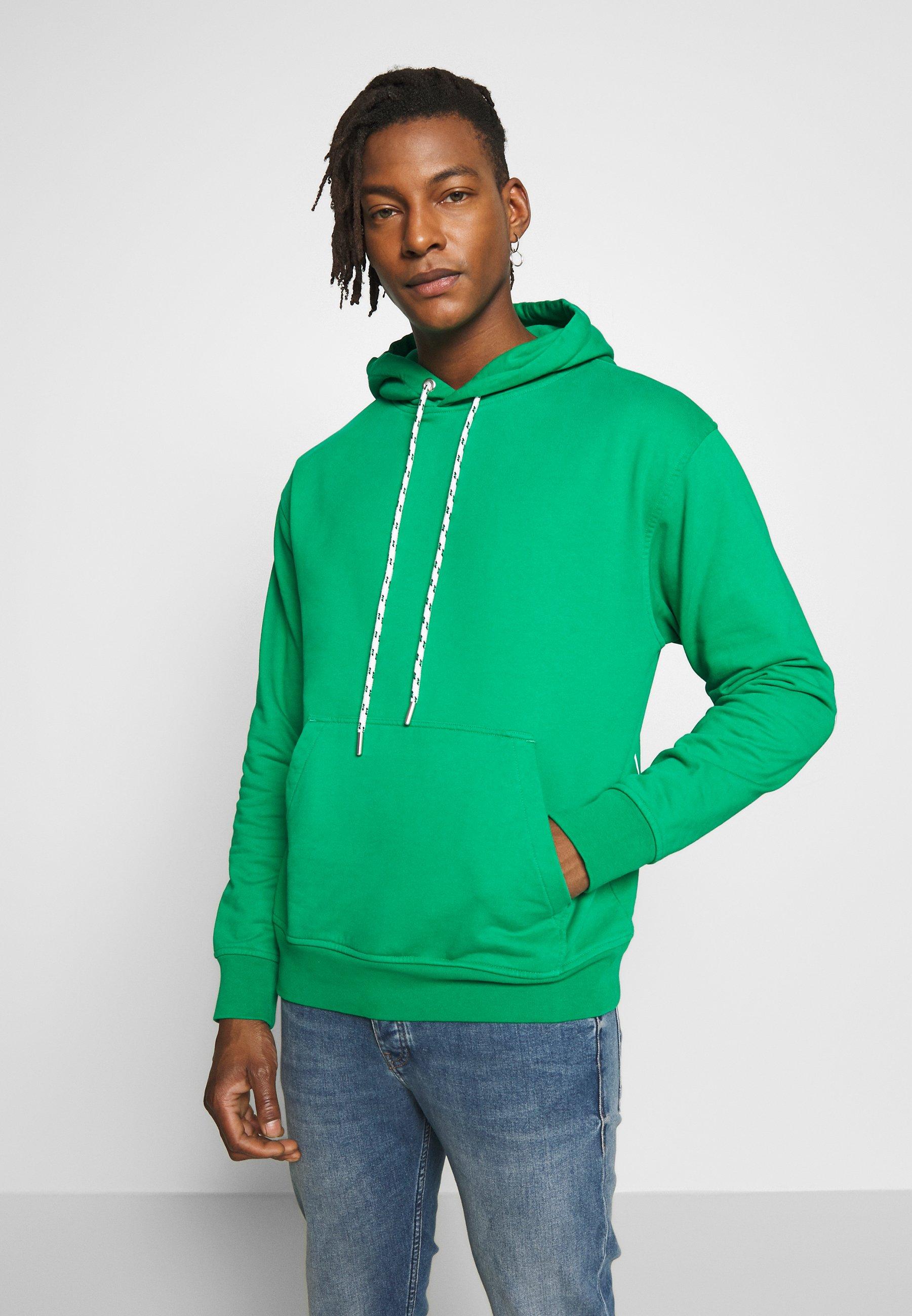 CLOSED Bluza z kapturem - bright green