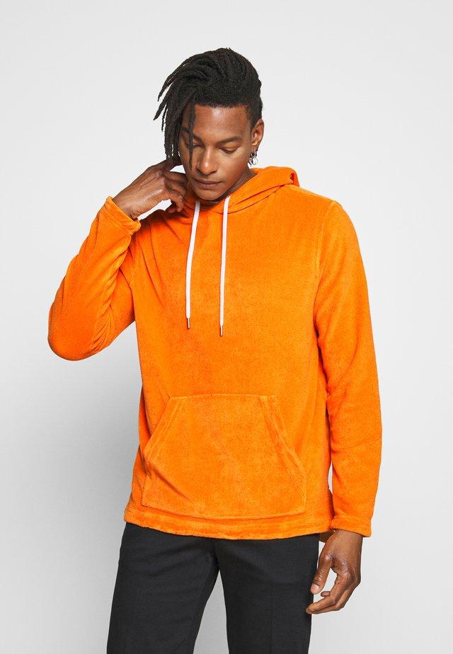 Jersey con capucha - tangerine