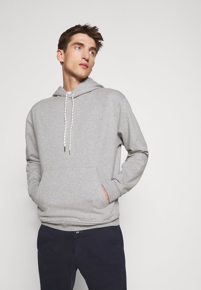 MEN´S - Jersey con capucha - light grey melange