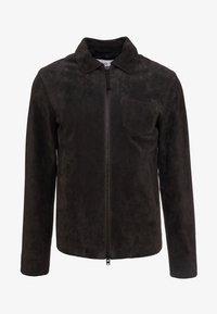 CLOSED - ZIP UP JACKET - Skinnjacka - espresso - 4