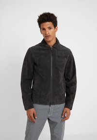 CLOSED - ZIP UP JACKET - Skinnjacka - espresso - 0