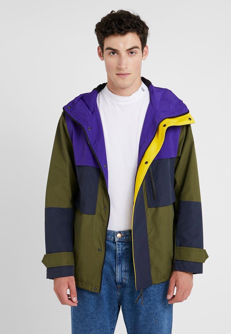 CLOSED - Lehká bunda - purple glow