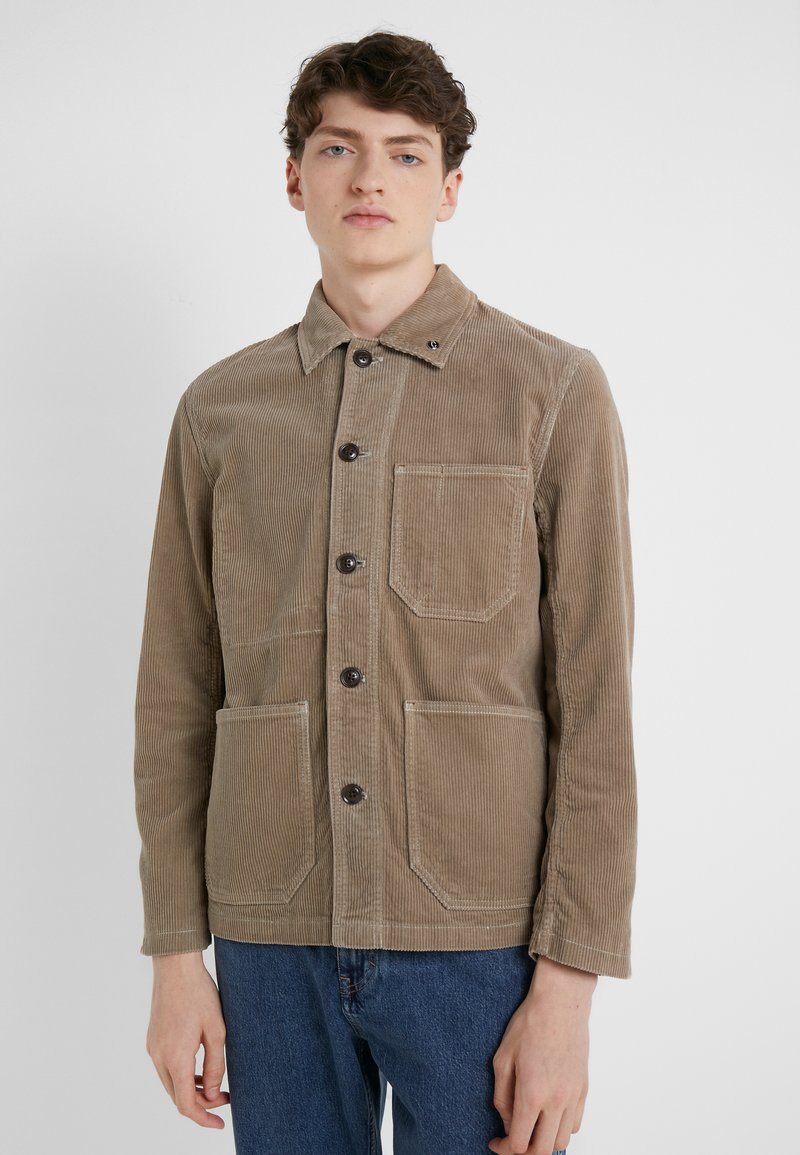 CLOSED - WORKER JACKET - Summer jacket - deep dune
