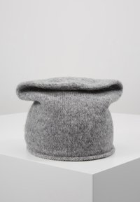 CLOSED - HAT - Bonnet - grey heather melange - 2