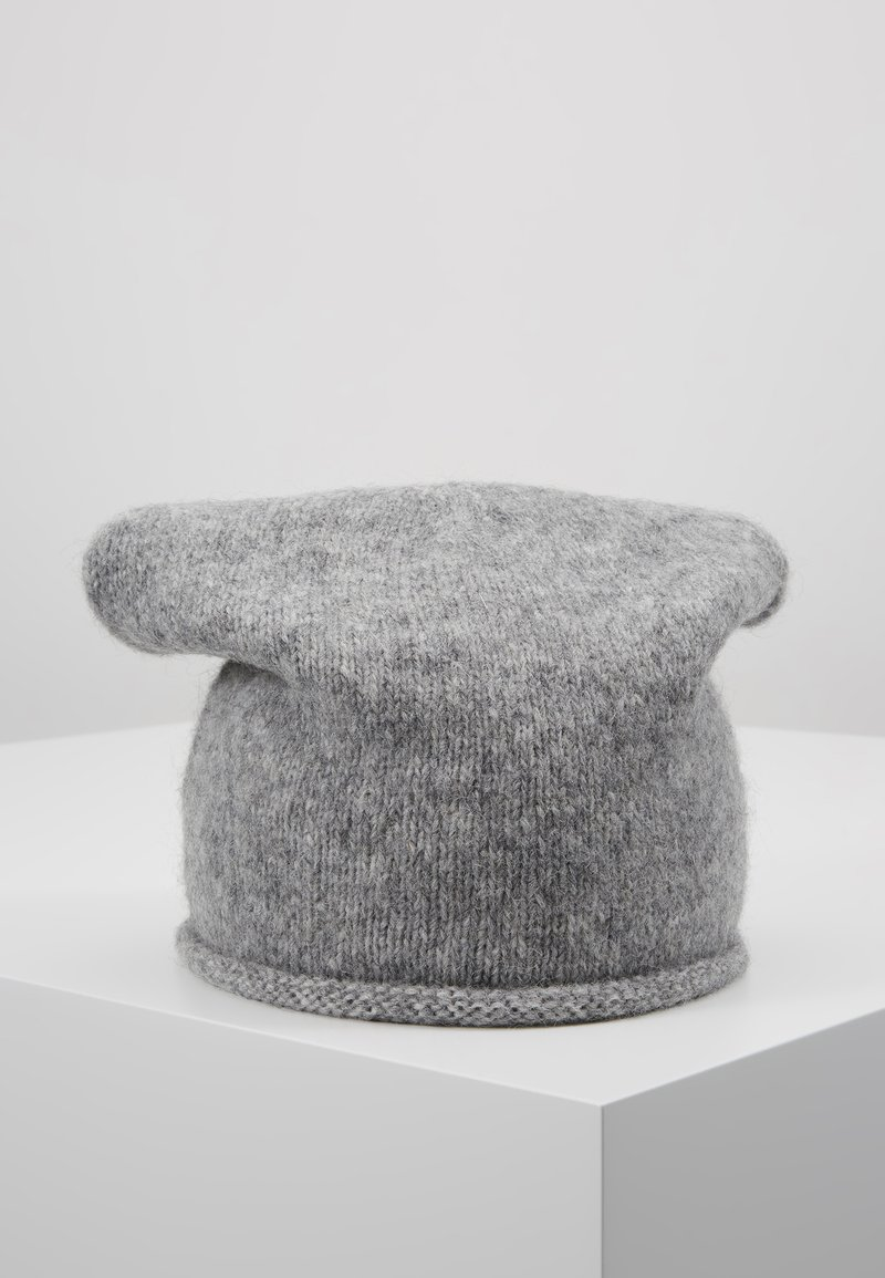 CLOSED - HAT - Bonnet - grey heather melange