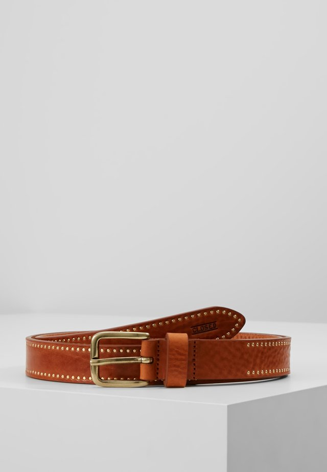 BELT - Cintura - caramel