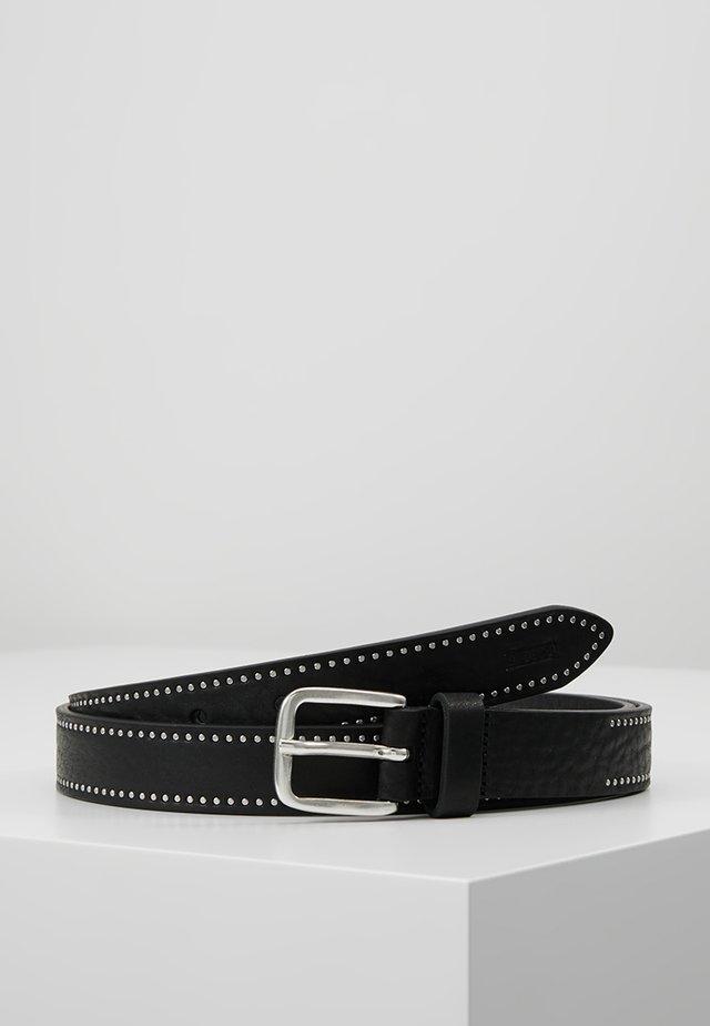 BELT - Bælter - black