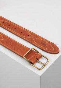 CLOSED - BRAIDED REG BELT - Belte - late summer tan - 2