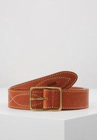 CLOSED - BRAIDED REG BELT - Belte - late summer tan - 0