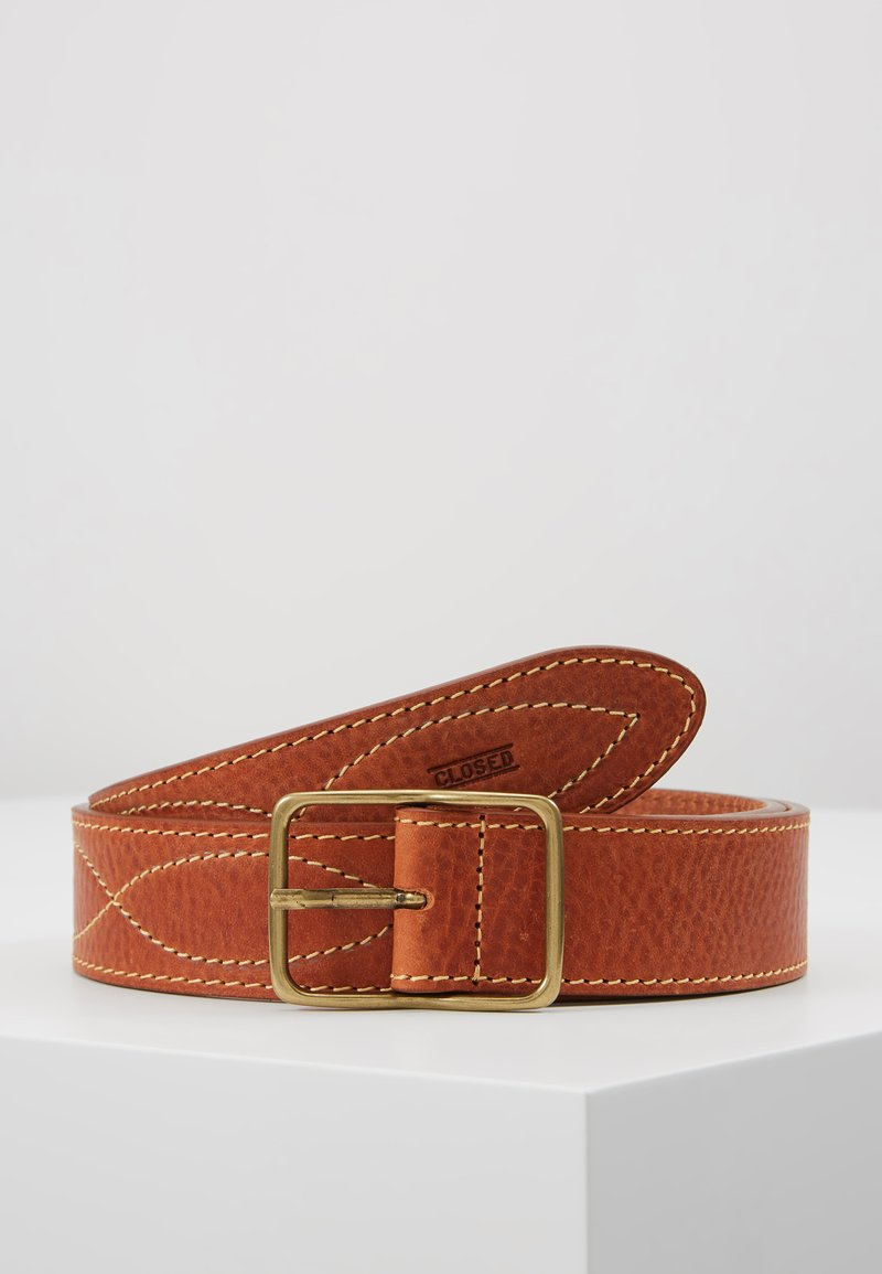 CLOSED - BRAIDED REG BELT - Belte - late summer tan