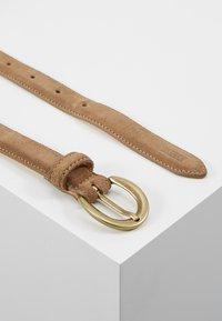 CLOSED - CIRCLE BUCKLE BELT - Belt - golden oak - 2