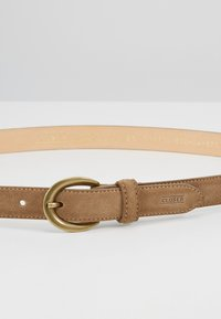 CLOSED - CIRCLE BUCKLE BELT - Belt - golden oak - 4