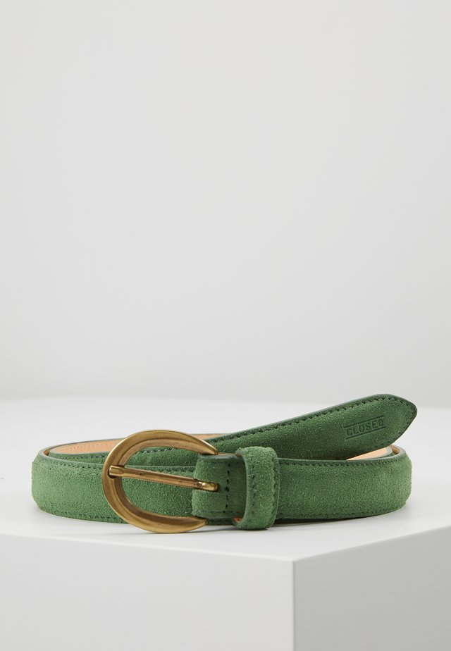 CIRCLE BUCKLE BELT - Skärp - dusty pine