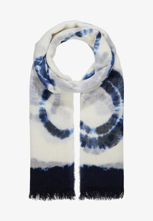 TIE DYE LIGHTWEIGHT SCARF - Šátek - ivory