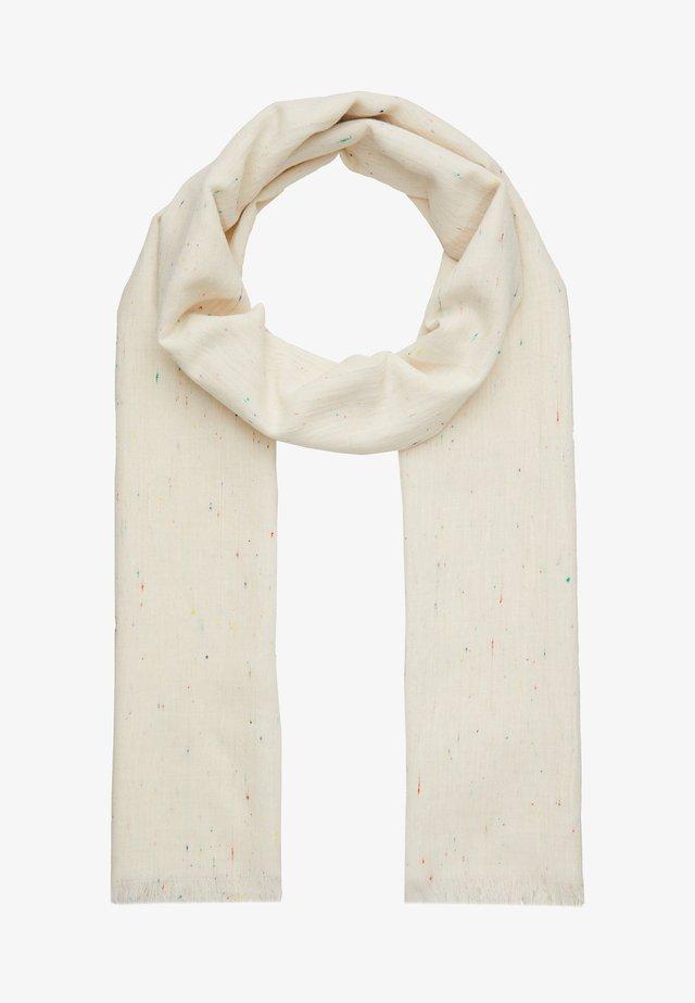 SCARF LIGHT STRIPE - Sjaal - barely beige