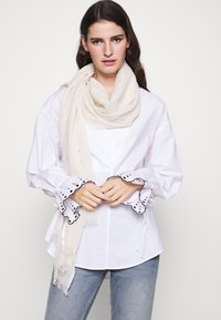 CLOSED - SCARF LIGHT STRIPE - Šála - barely beige - 0