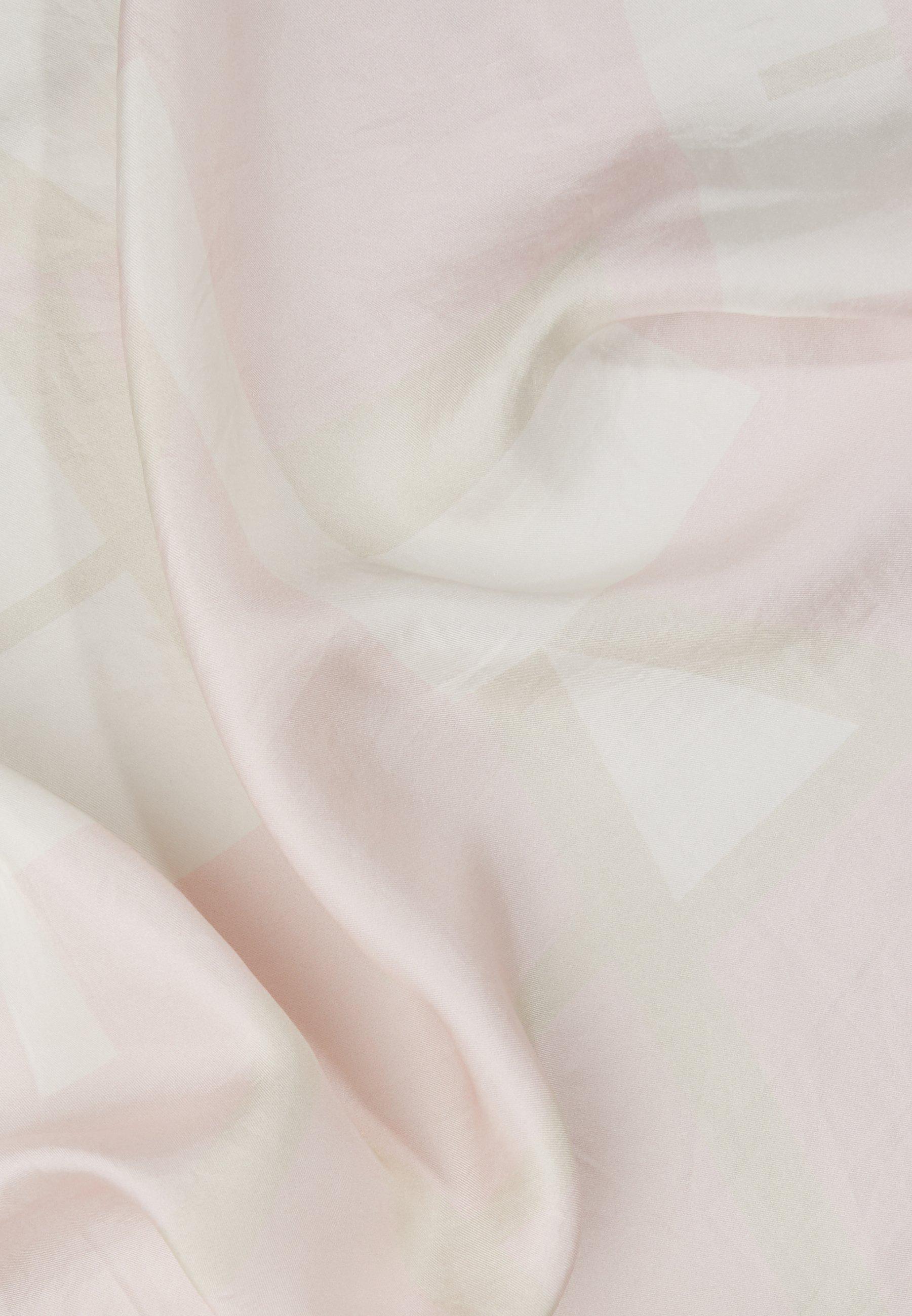 Closed Scarf Geo - Tørklæde / Halstørklæder Soft Pink