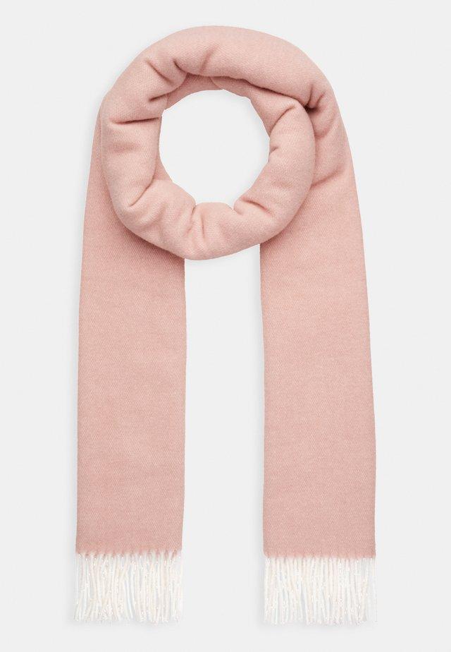 Sjaal - rose quartz