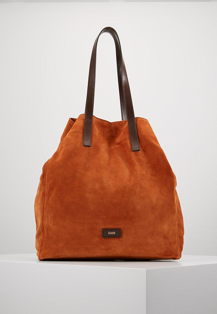 CLOSED - TOTE - Tote bag - caramel