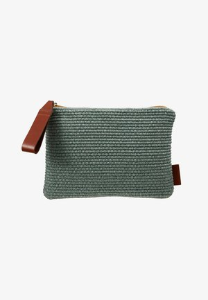 POUCH RAFFIA TWO TONE - Pikkulaukku - multi color