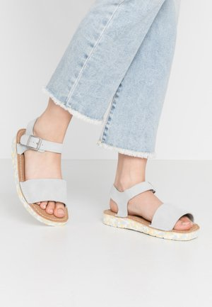 LUNAN STRAP - Sandalias - light blue