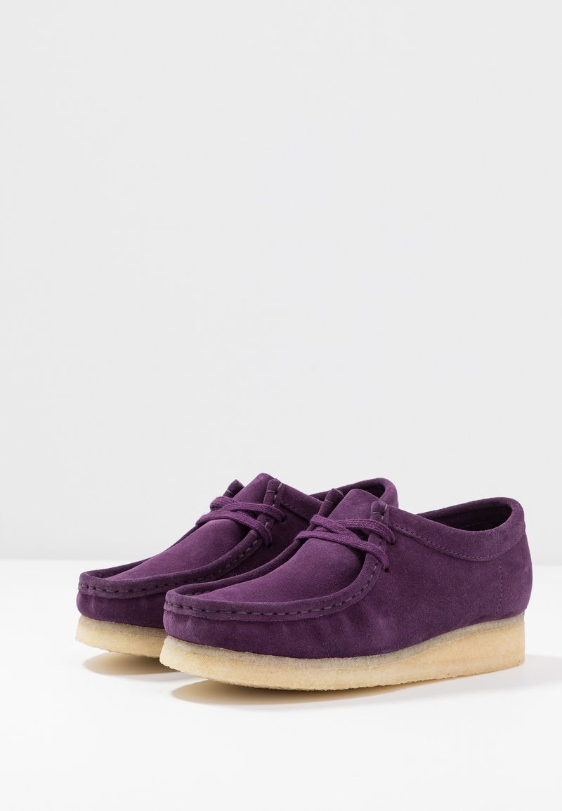 Deep Clarks WallabeeMocassins Purple Originals ARLc4jq35S