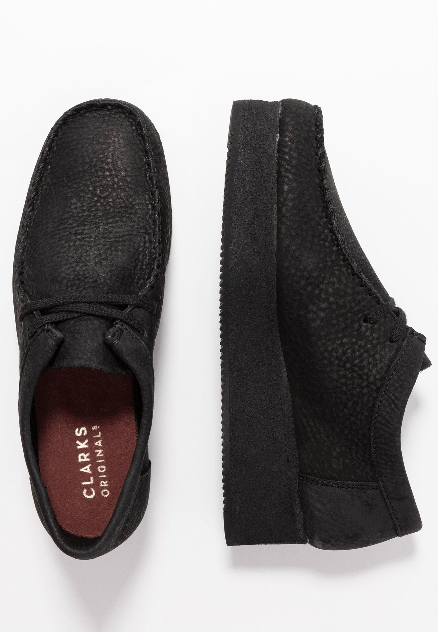 Clarks Originals WALLACRAFT - Sznurowane obuwie sportowe - black