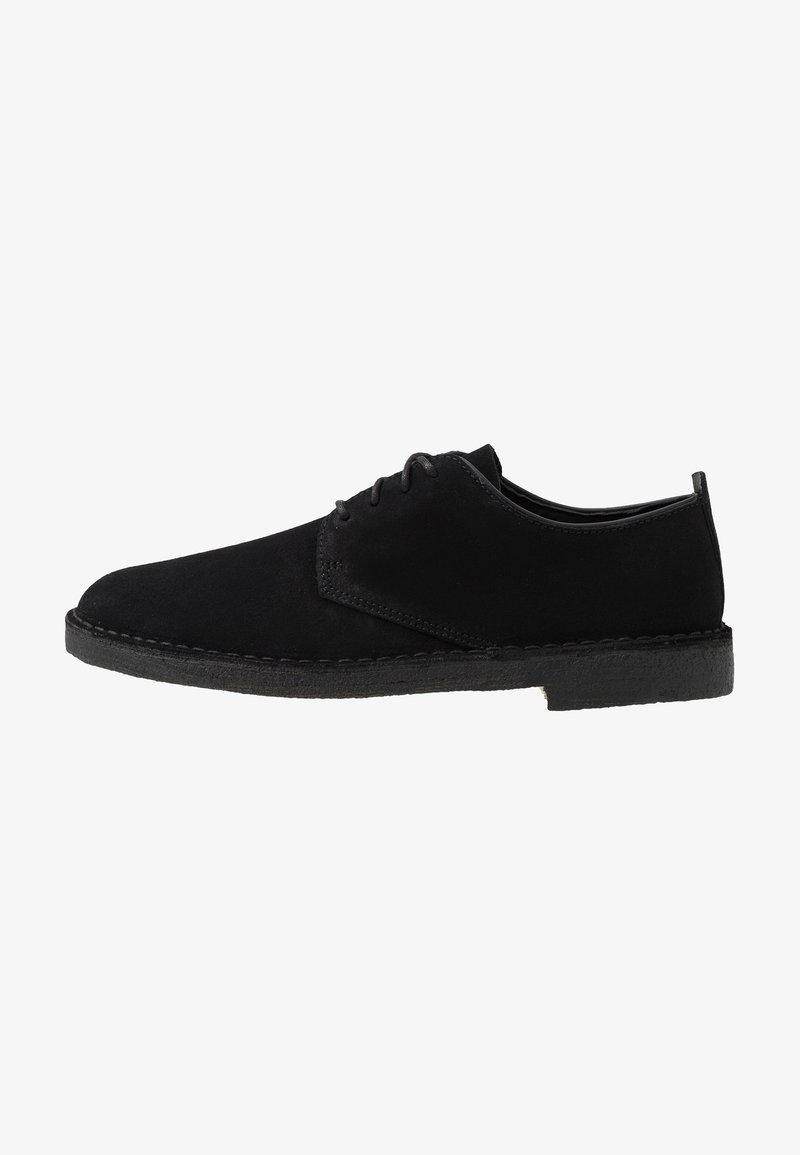 Clarks Originals - DESERT LONDON - Sportieve veterschoenen - black