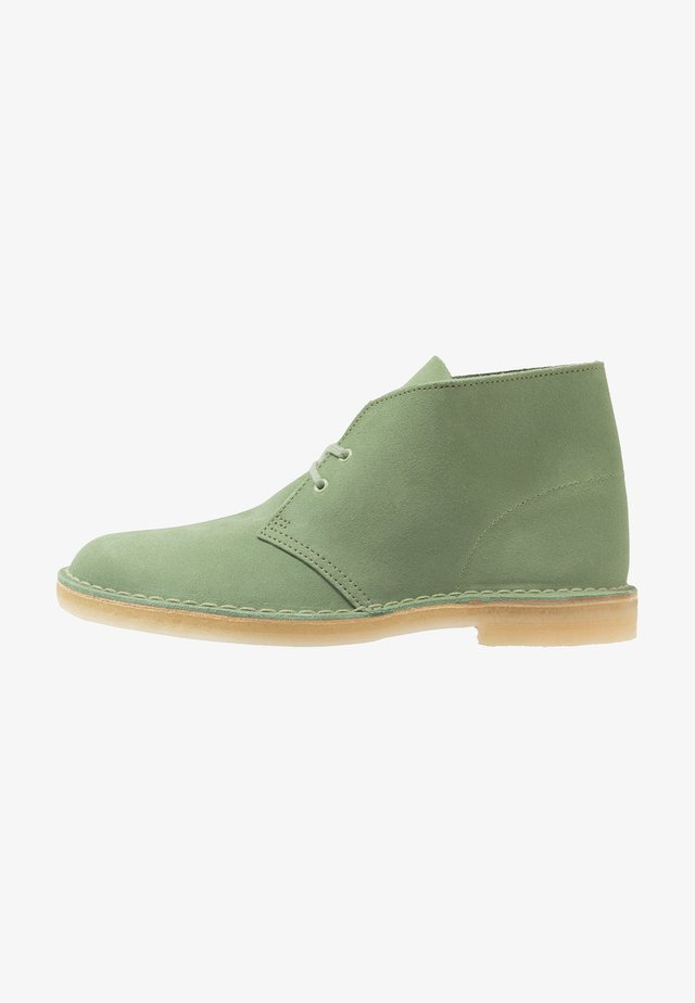 DESERT - Casual lace-ups - cactus green