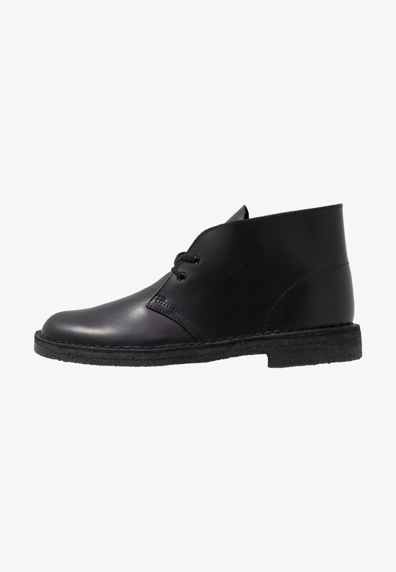 Clarks Originals - DESERT - Casual lace-ups - black polished