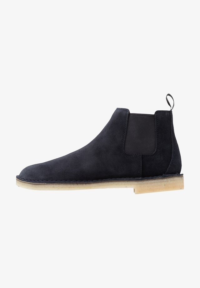 DESERT CHELSEA - Bottines - navy
