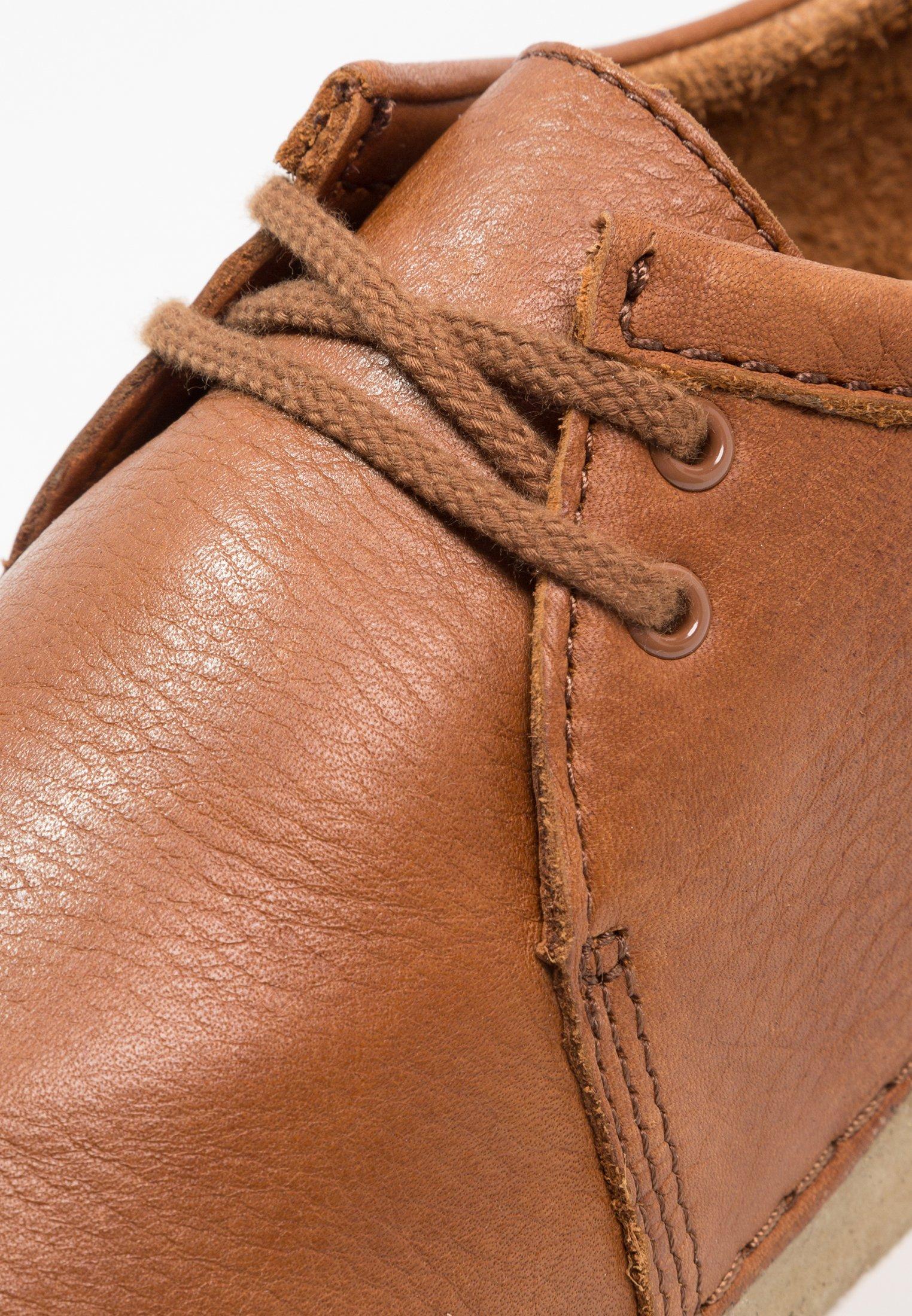 Clarks Originals ASHTON - Sznurowane obuwie sportowe - cola