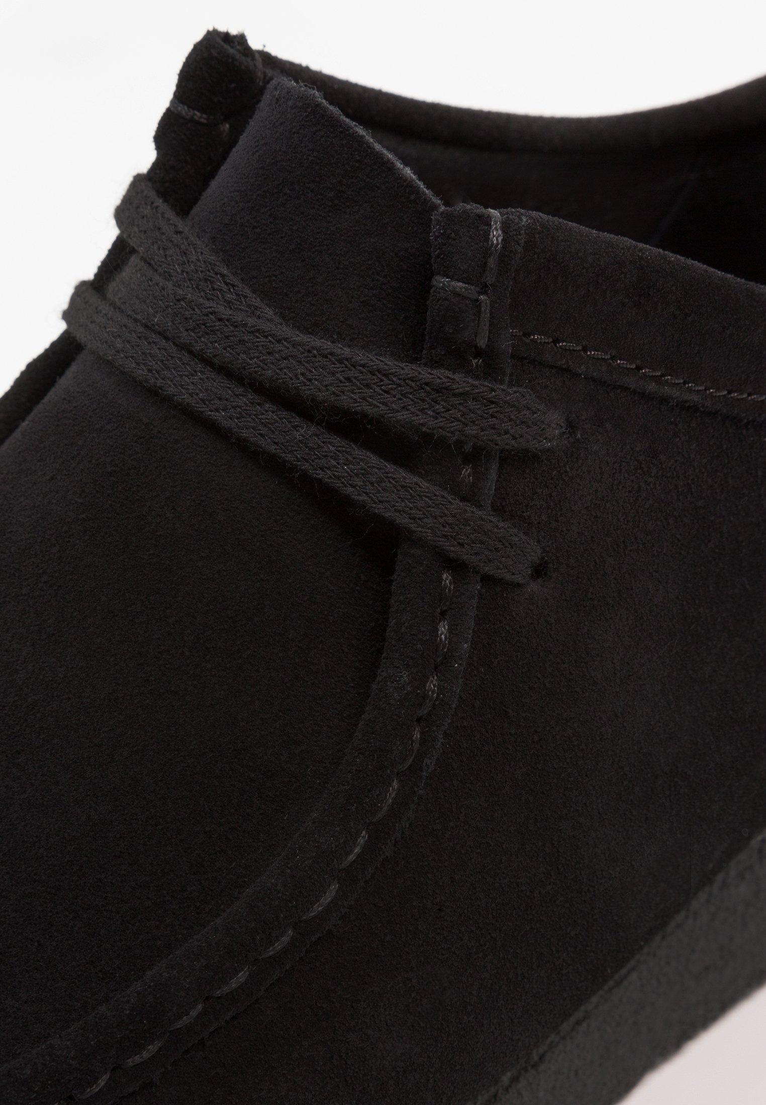 Clarks Originals Wallabee-schnürsenkel-weiss - Casual Lace-ups Black