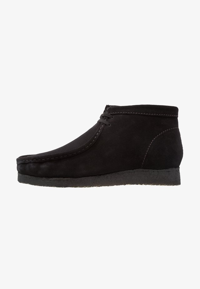 WALLABEE - Sporty snøresko - black