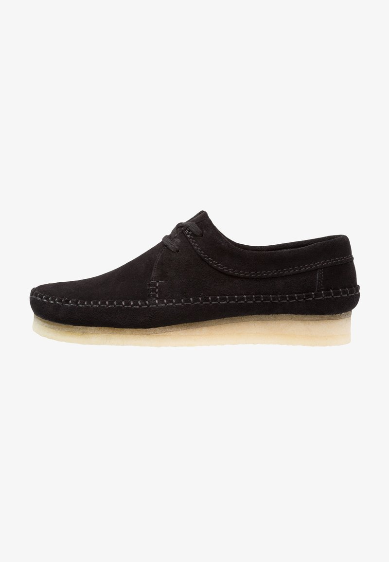 Clarks Originals - WEAVER - Stringate sportive - black