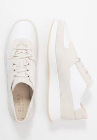 Clarks Originals - KIOWA PACE - Sneakers basse - white - 1