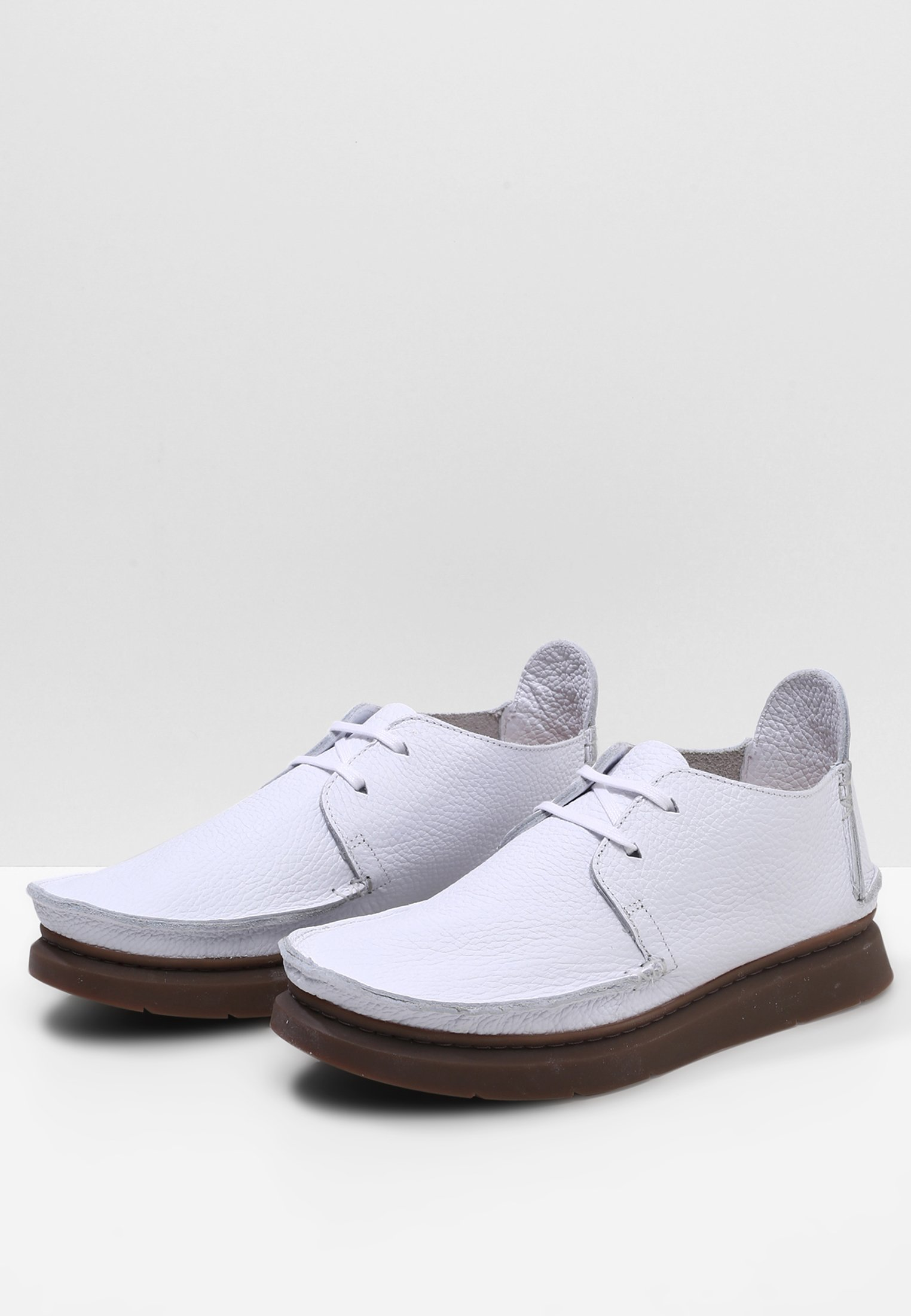 Clarks Originals Seven - Chaussures À Lacets White