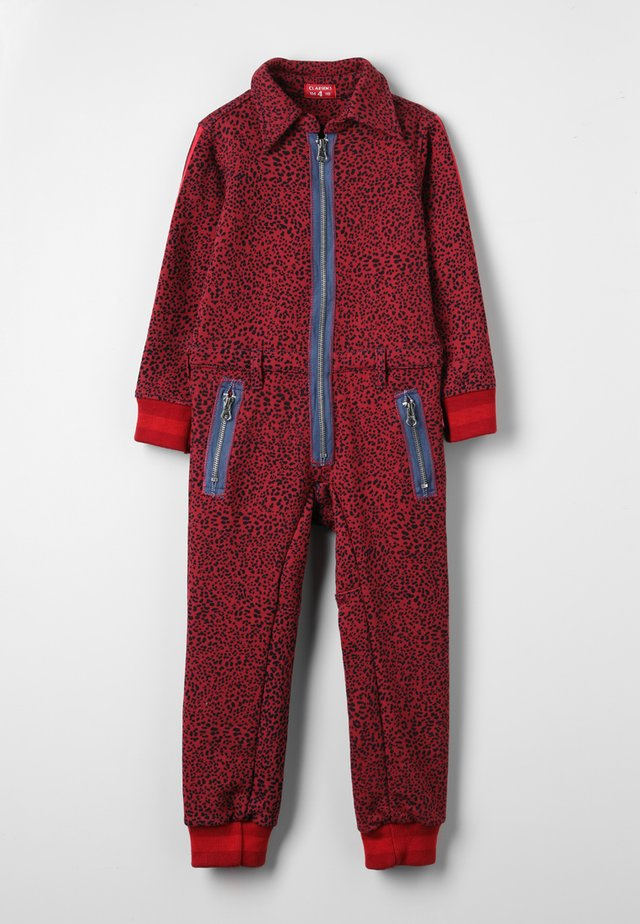 OVERALL ONEPIECE - Mono - red