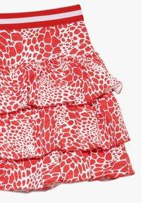 Claesen's - GIRLS SKIRT - Mini skirt - red - 3