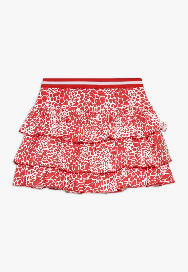 GIRLS SKIRT - Spódnica mini - red