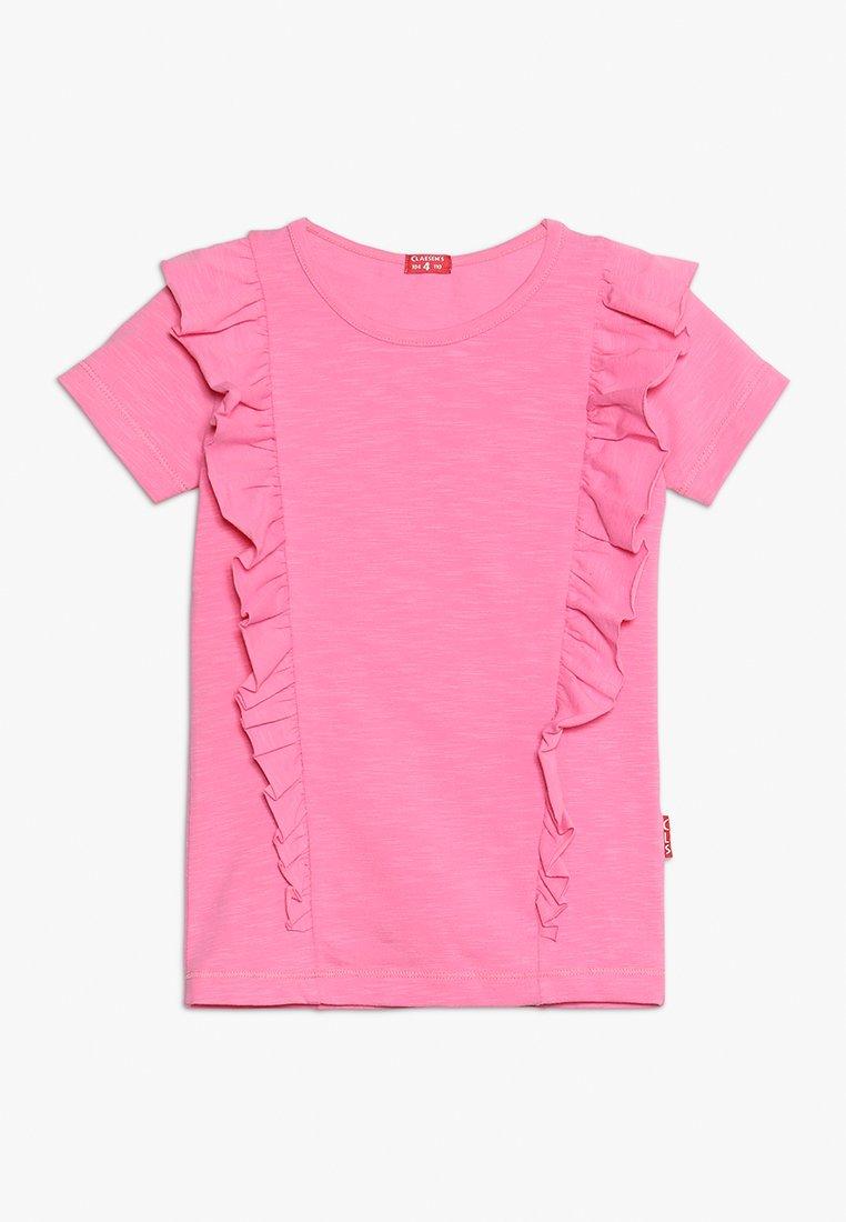 Claesen's - GIRLS - T-shirt z nadrukiem - pink