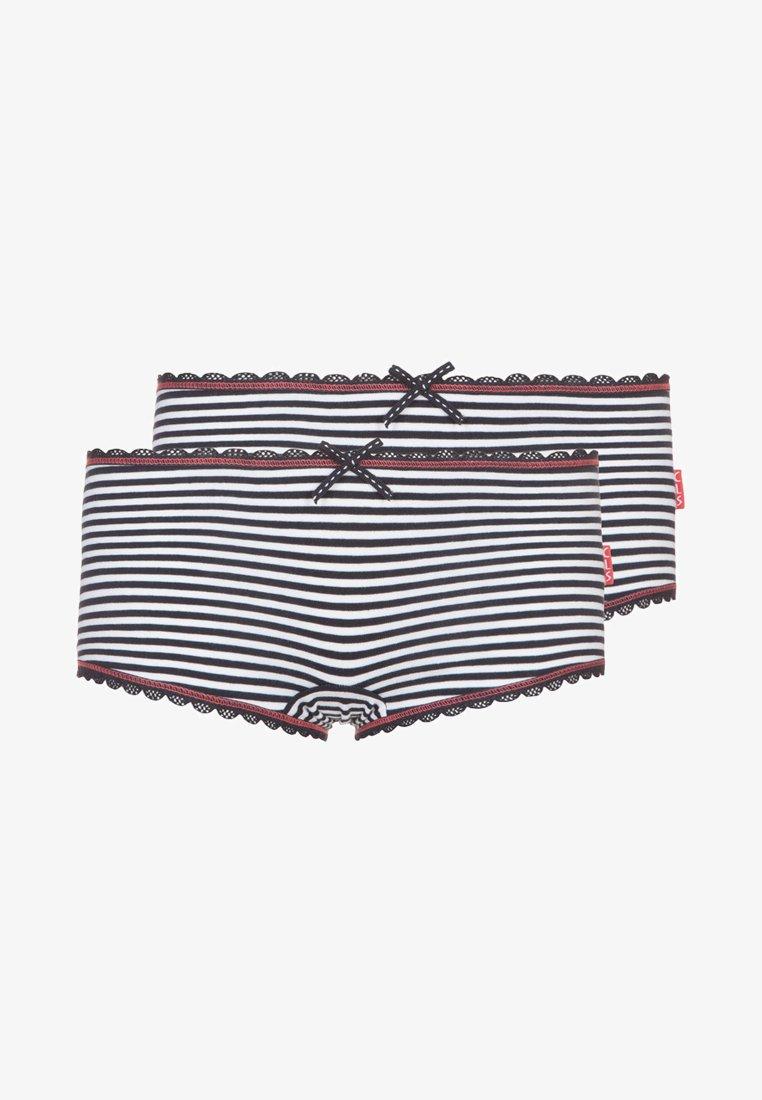 Claesen's - 2 PACK  - Panties - navy/white