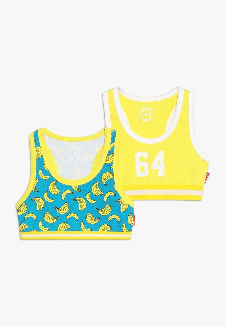 Claesen's - GIRLS SPORT BRA 2 PACK - Bustier - yellow